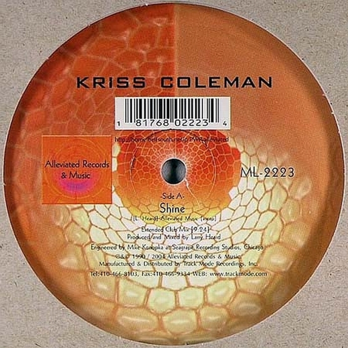 COLEMAN, Kriss - Shine