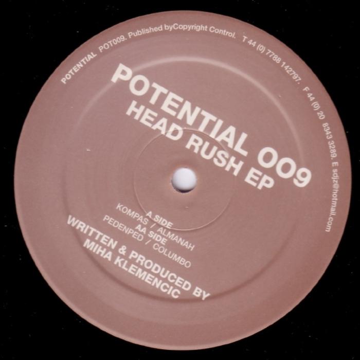 KLEMENCIC, Miha - Head Rush EP