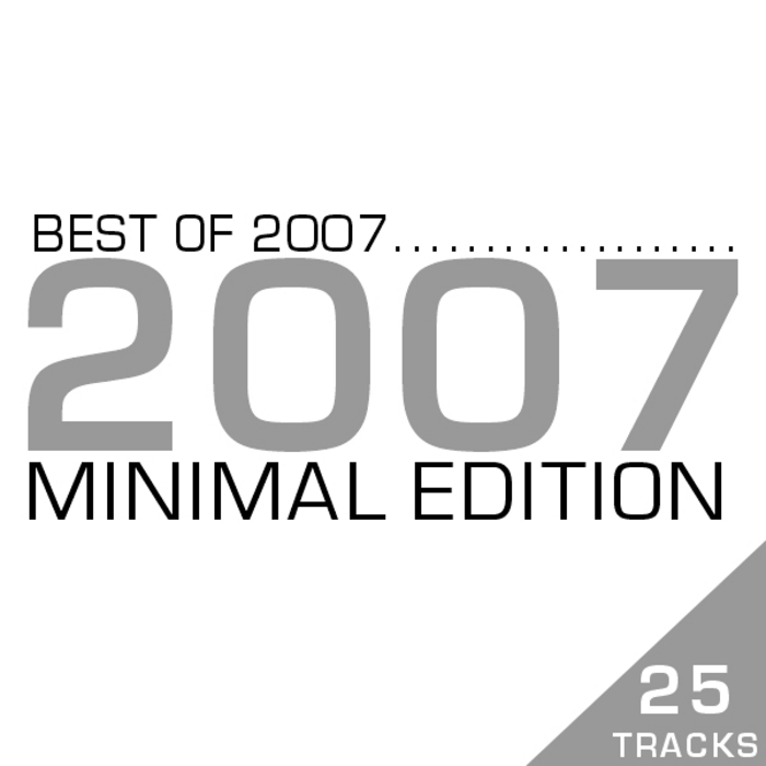 VARIOUS - Best Of 2007 - Minimal Edition