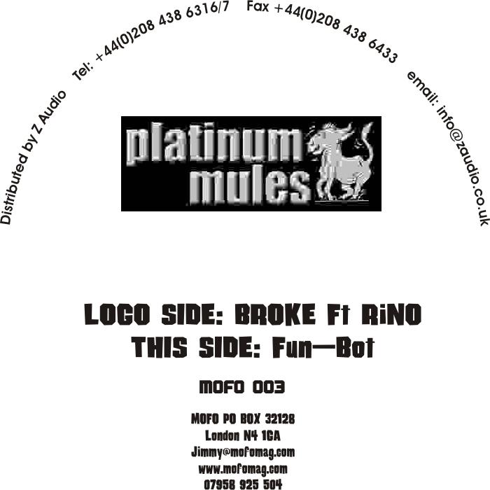 PLATINUM MULES - Broke