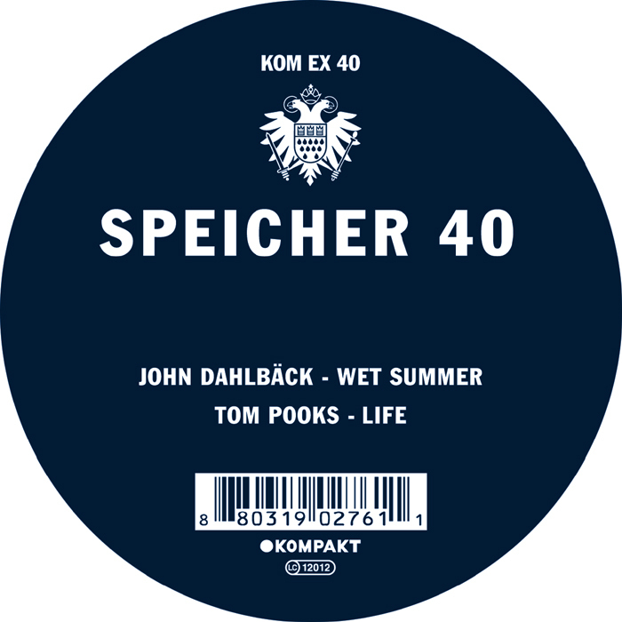DAHLBACK, John/TOM POOKS - Speicher 40