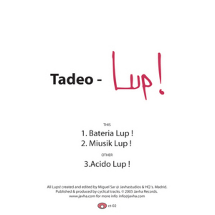 TADEO - Lup!