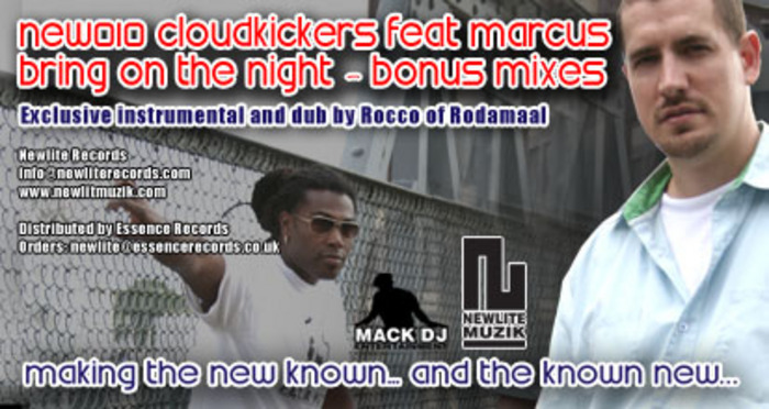 CLOUDKICKERS feat MARCUS - Bring On The Night (Rocco Bonus Mixes)