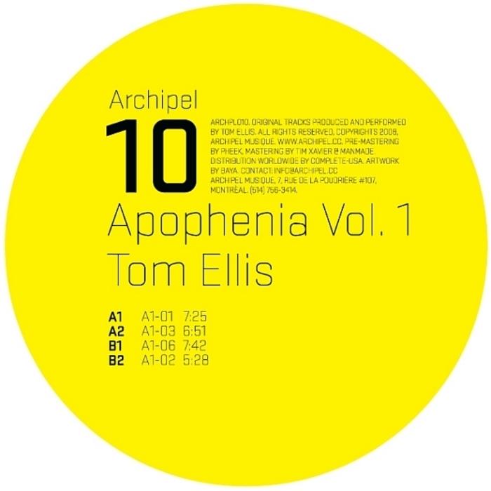ELLIS, Tom - Apophenia Vol 1
