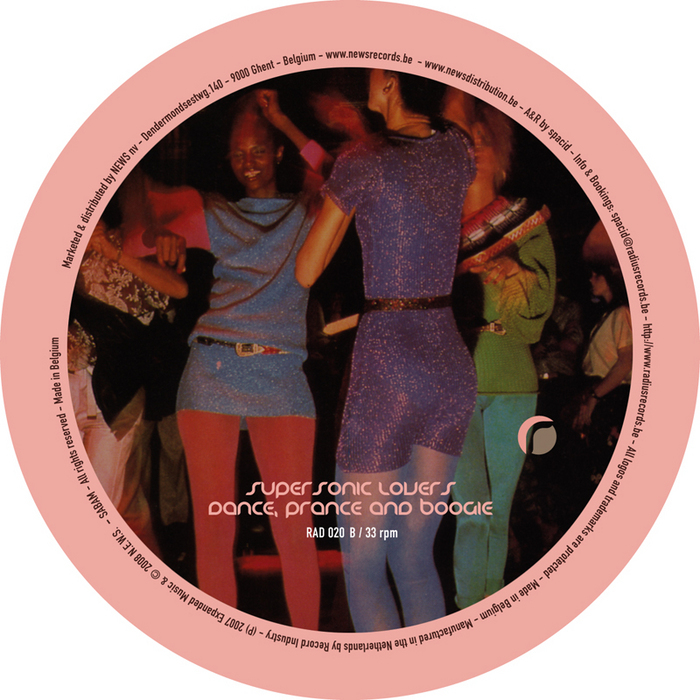 SUPERSONIC LOVERS - Dance Prance & Boogie