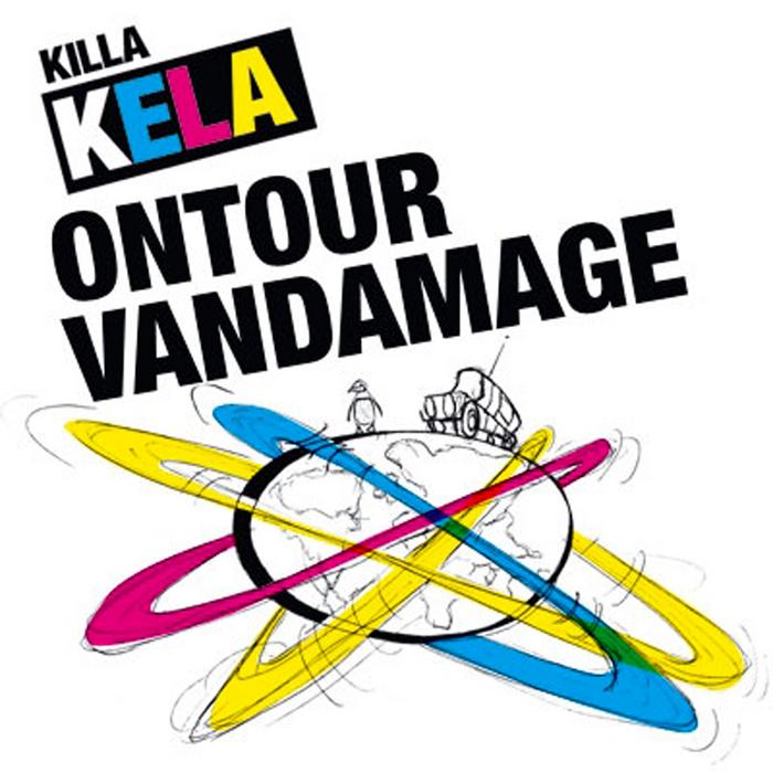 KILLA KELA - On Tour Van Damage