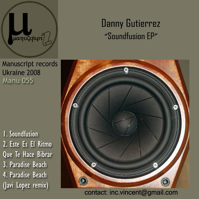 GUTIERREZ, Danny - Soundfusion EP