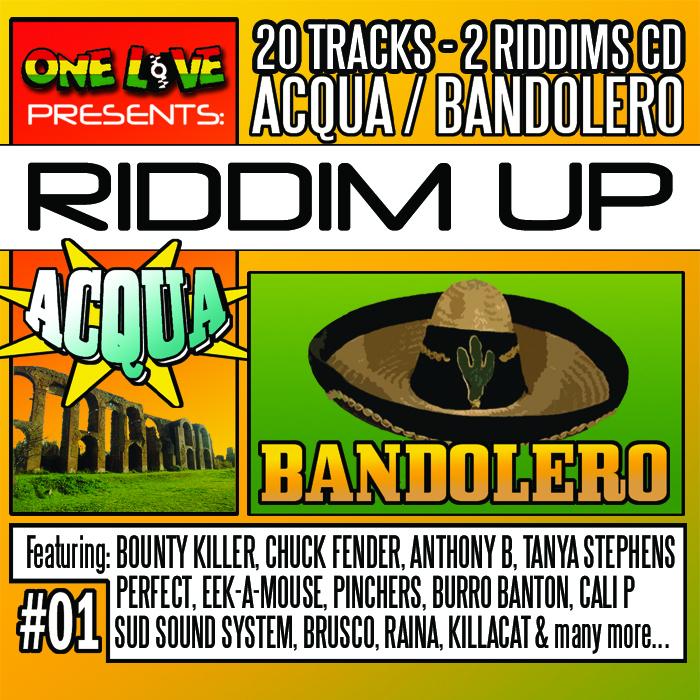 VARIOUS - Riddim Up # 1: Acqua/Bandolero