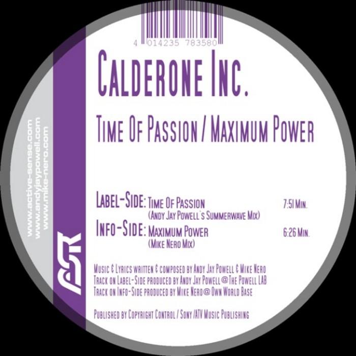 Calderone Inc. - Maximum Power / Time Of Passion