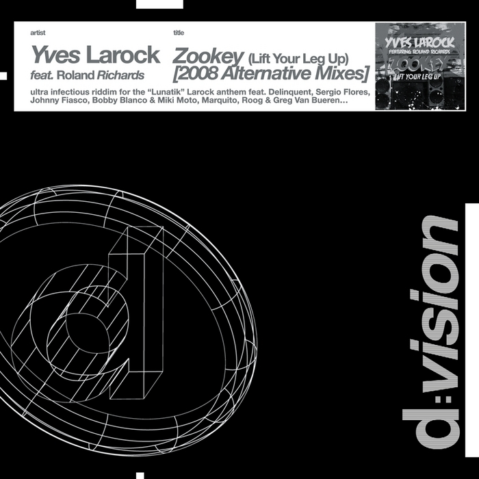 LAROCK, Yves - Zookey (Lift Your Leg Up)