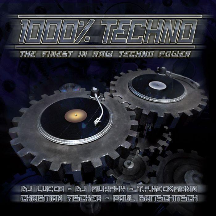 VARIOUS - 1000% Techno