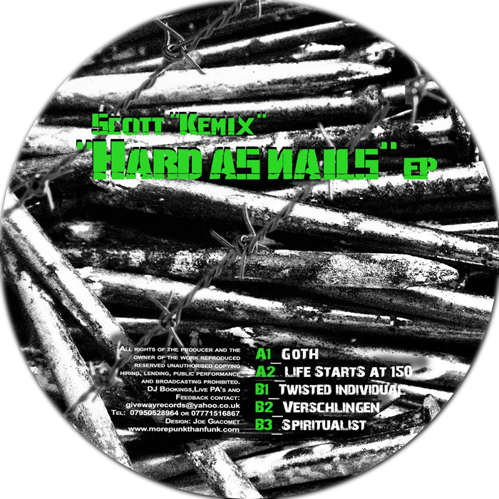 KEMIX, Scott - Hard As Nails EP