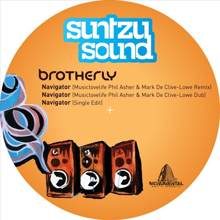 BROTHERLY - Navigator (Musiclovelife Phil Asher & Marc De Clive-Lowe Remixes)