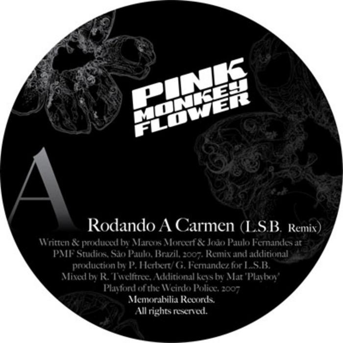 PINK MONKEY FLOWER - Rodando A Carmen EP