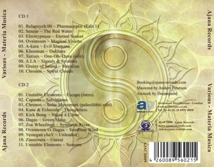 VARIOUS - Materia Musica