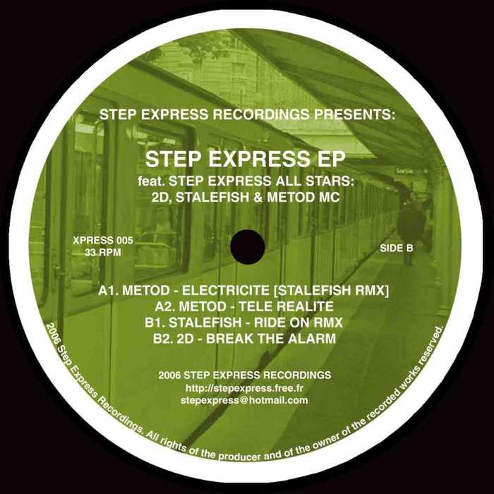 STALEFISH/METOD/2D - Step Express EP