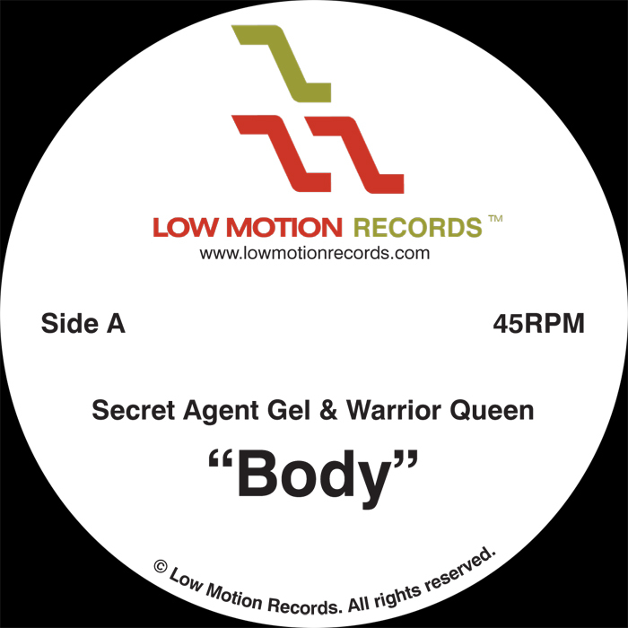 SECRET AGENT GEL feat WARRIOR QUEEN - Body b/w Refined