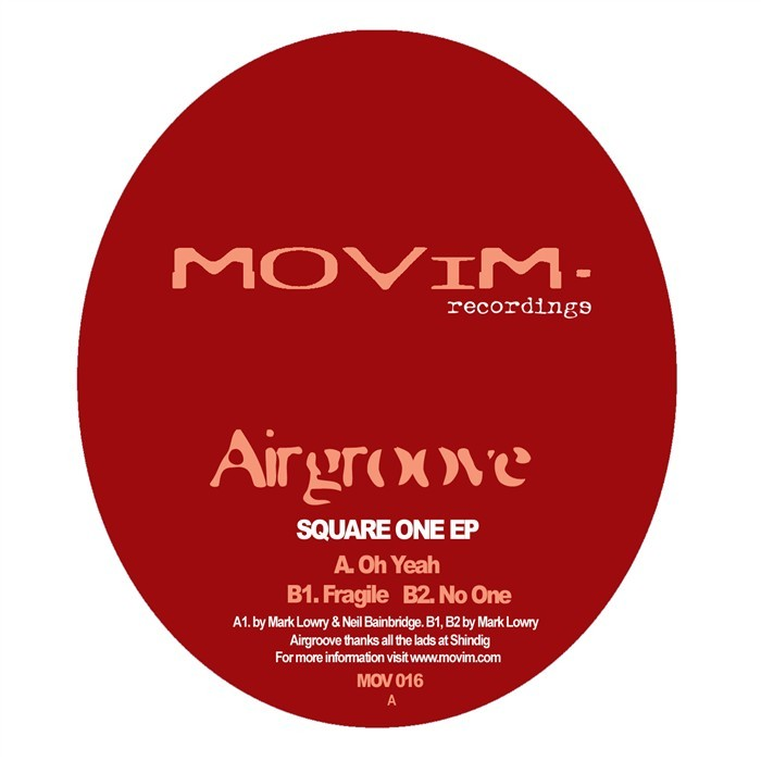 AIRGROOVE - Square One EP