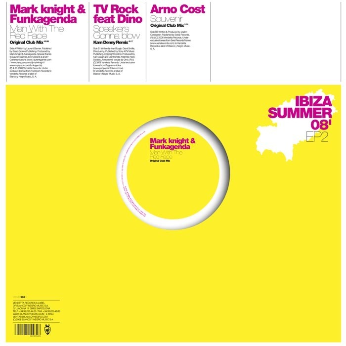 TV ROCK feat DINO/MARK KNIGHT/FUNKAGENDA/ARNO COST - Ibiza Summer EP 2