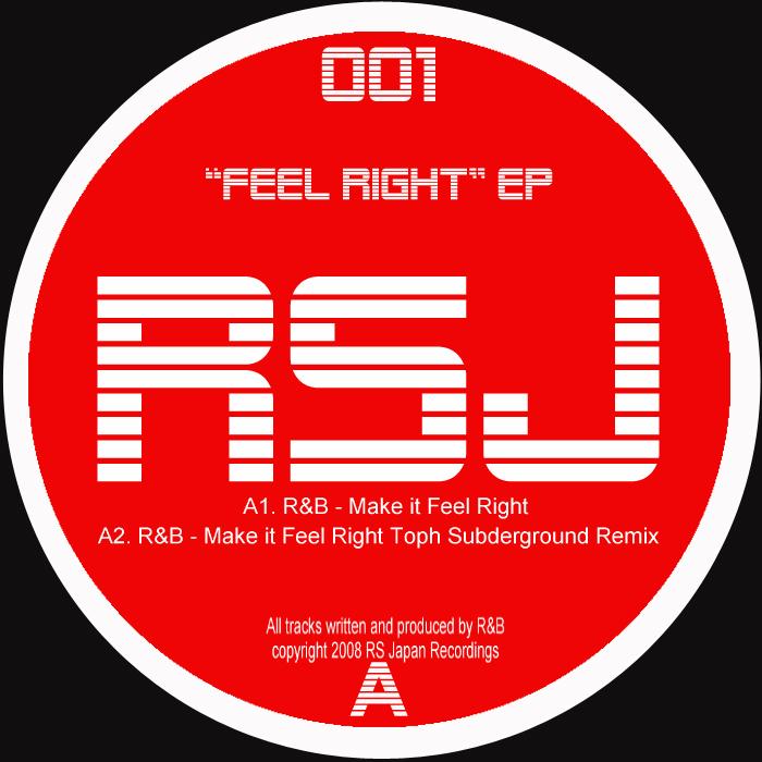 R&B/TOPH SUBDERGROUND - Feel Right EP