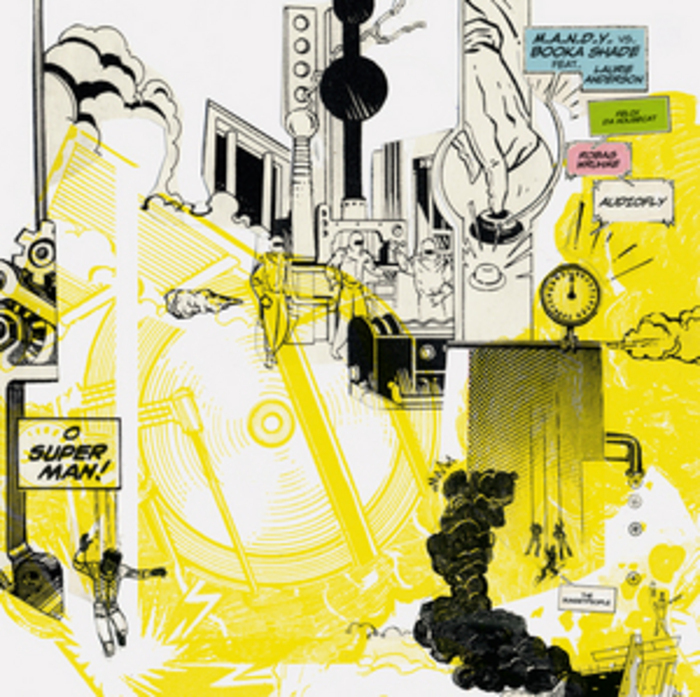 MANDY vs BOOKA SHADES feat LAURIE ANDERSON - O Superman Remixes - Vinyl 2