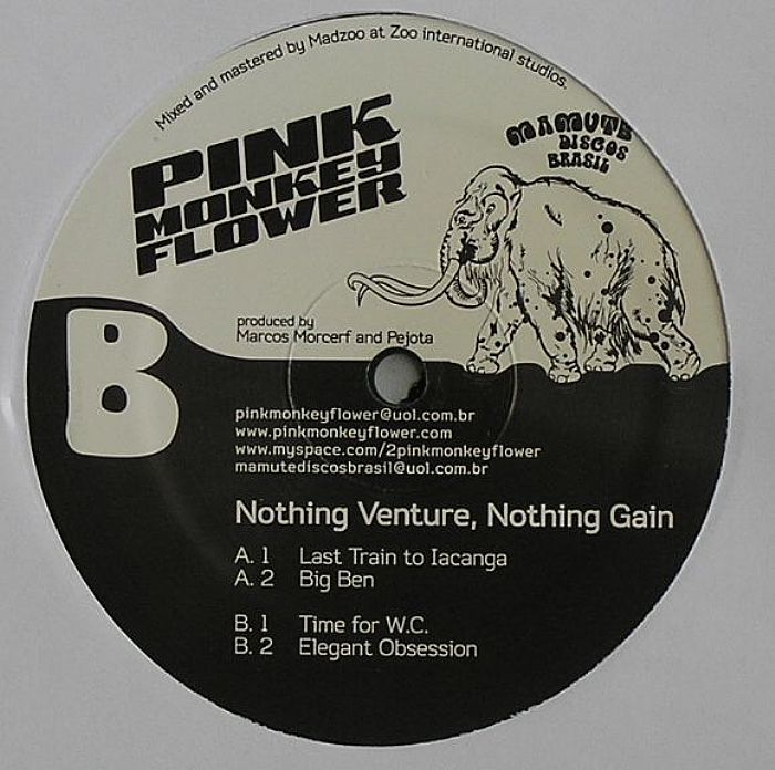 PINK MONKEY FLOWER - Nothing Venture Nothing Gain