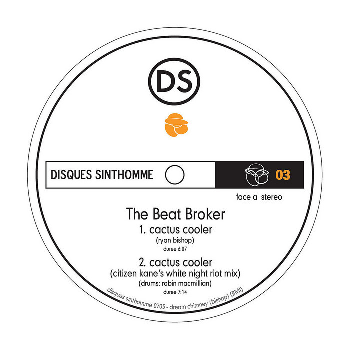 BEAT BROKER, The/LARS BEHRENROTH - Cactus Cooler (single)