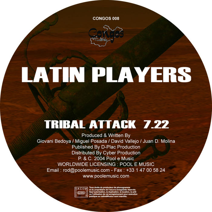 LATIN PLAYERS - Tribal Attack