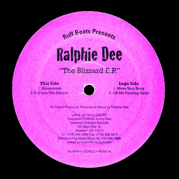 DEE, Ralphie - The Blizzard EP