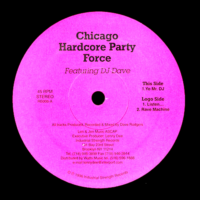 DELTA 9 feat DJ DAVE - Chicago Hardcore Party Force
