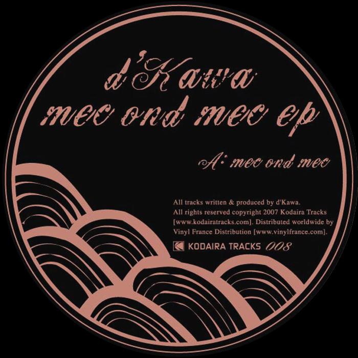 D'KAWA - Mec Ond Mec EP