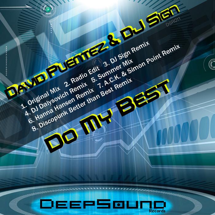 PUENTEZ, David/DJ SIGN - Do My Best