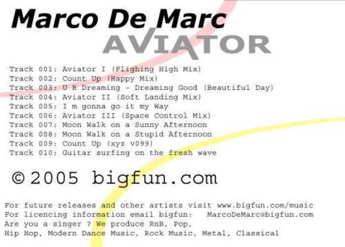DE MARC, Marco - Aviator II (Soft Landing mix)