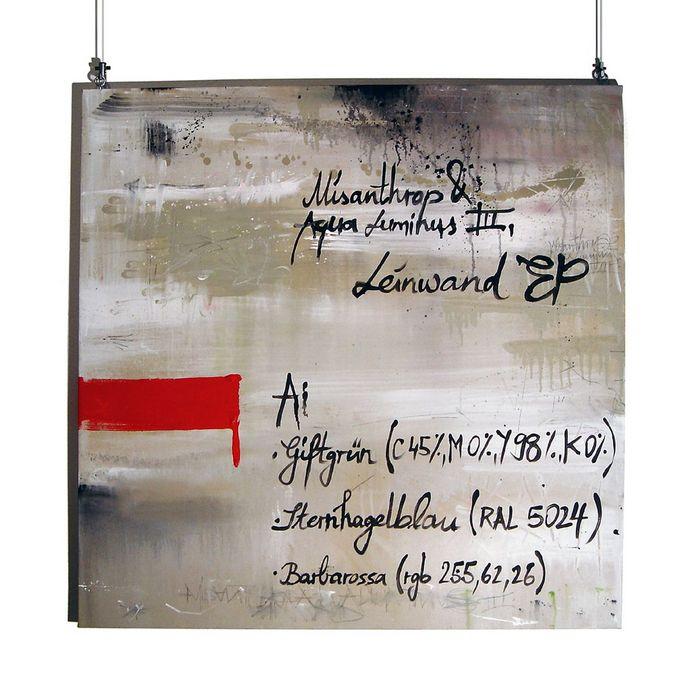 MISANTHROP/AQUA LUMINUS III - Leinwand EP