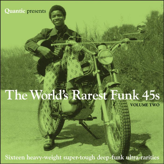 VARIOUS - Quantic Presents The World's Rarest Funk 45s Vol Two