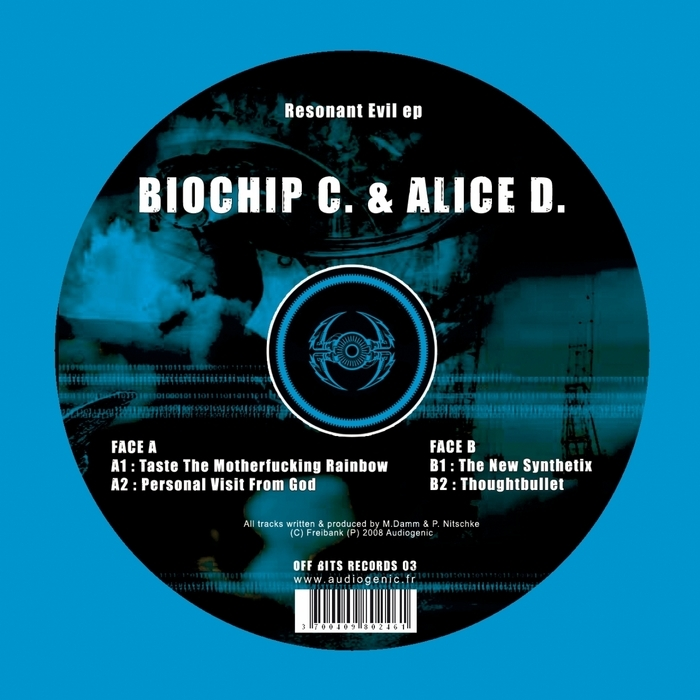 BIOCHIP C/ALICE D - Resonant Evil