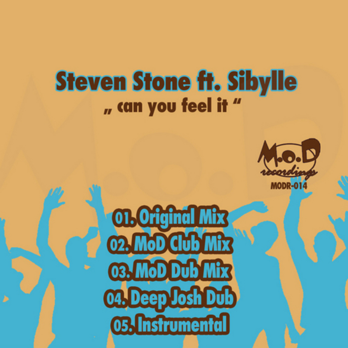 STONE, Steve feat SIBYLLE - Can You Feel It