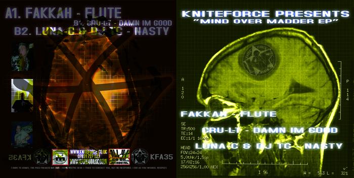 FAKKAH/CRU L T/LUNA C/DJ TC - Mind Over Madder EP