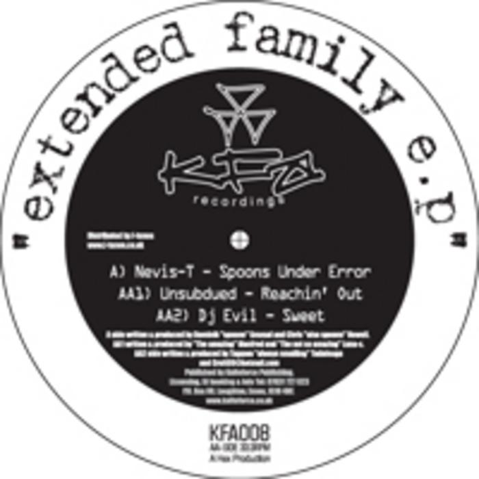 NEVIS T/UNSUBDUED/DJ EVIL - Extended Family EP