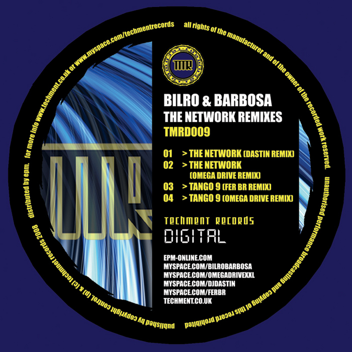 BILRO & BARBOSA - The Network (remixes)