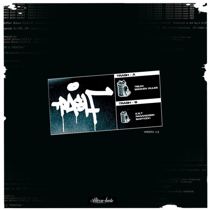 BROKEN RULES/TIEUM/EST/PARANOIZER/BARTOCH - 8 Bit Racket EP