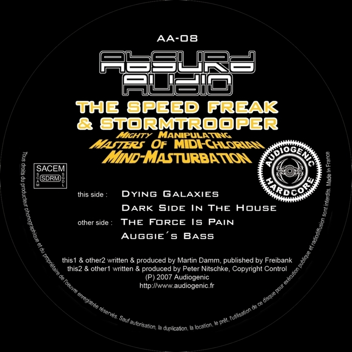 SPEED FREAK, The/STORMTROOPER - Mighty Manipulating Masters Of Midi-Chlorian Mind-Masturbation EP
