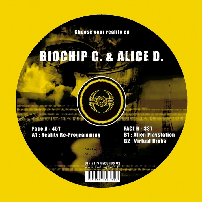 BIOCHIP C/ALICE D - Choose Your Reality