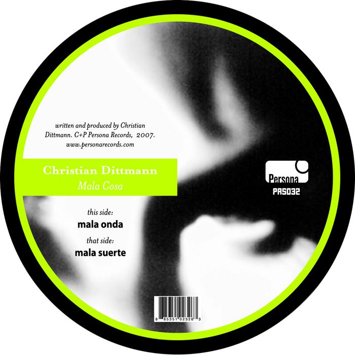 DITTMANN, Christian - Mala Cosa EP