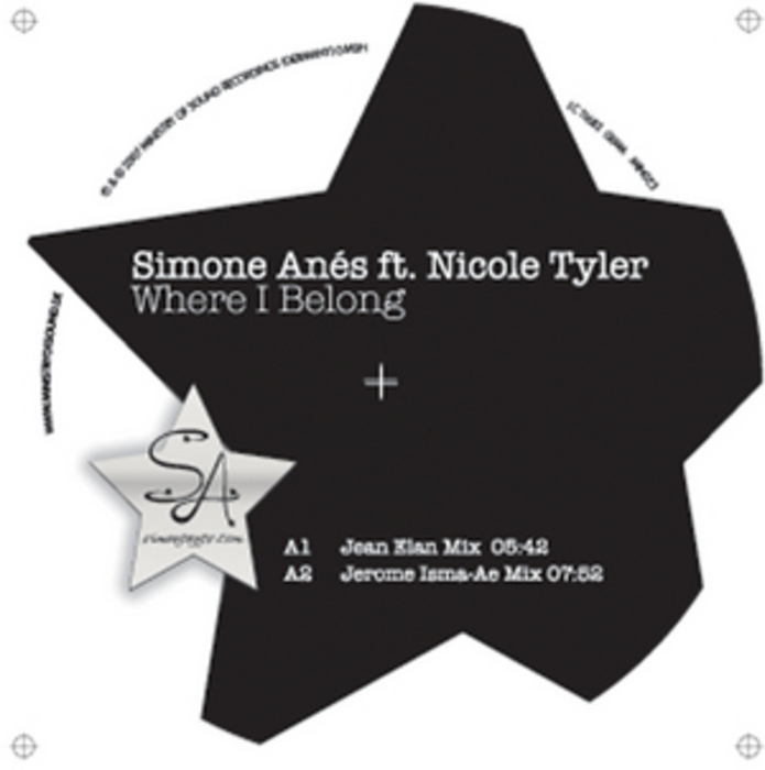 ANES, Simone feat NICOLE TYLER - Where I Belong
