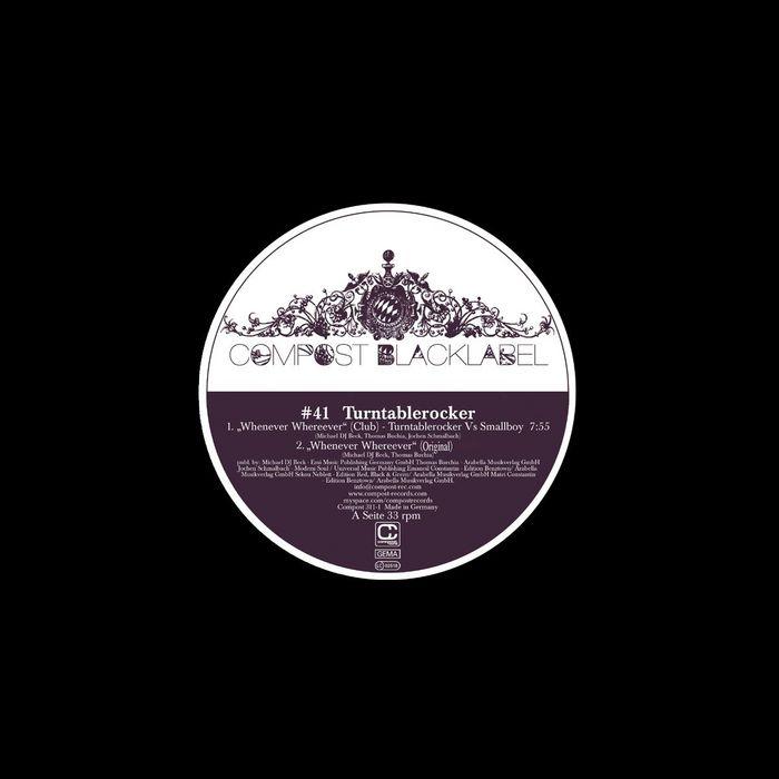 TURNTABLEROCKER/SMALLBOY/MANUMATEI - Black Label #41
