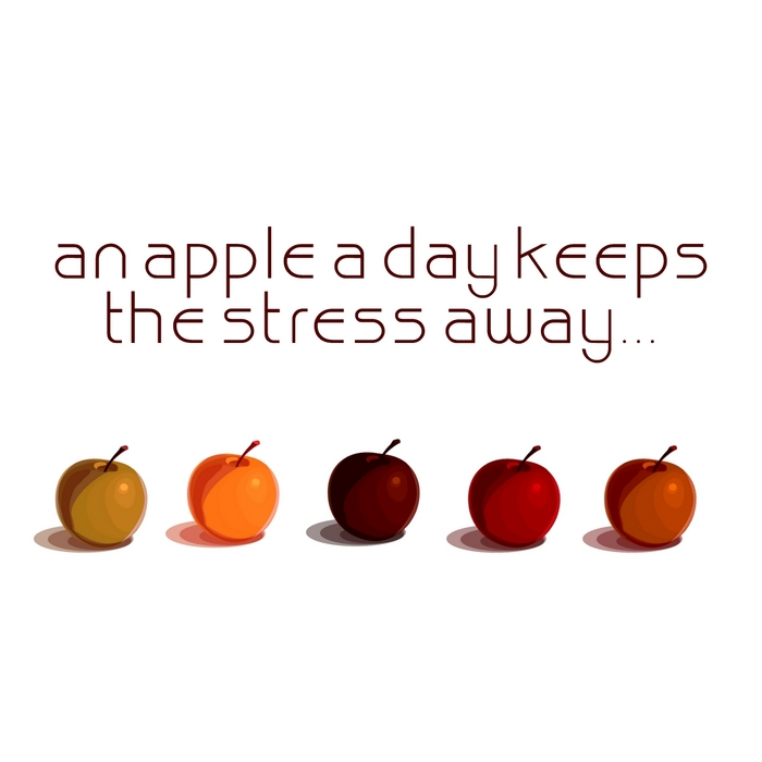VARIOUS - An Apple A Day Keeps The Stress Away: Deep Electronic Pleasure