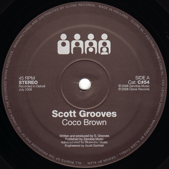 GROOVES, Scott - Coco Brown