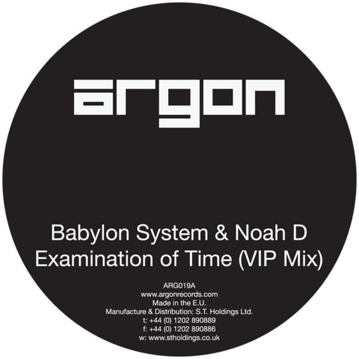 BABLYON SYSTEM/NOAH D - Examination Of Time VIP
