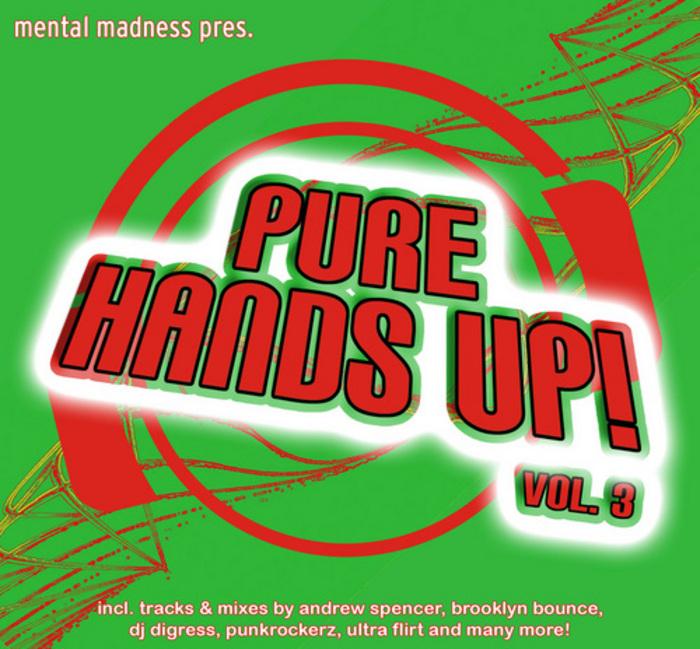 VARIOUS - Mental Madness Presents Pure Hands Up! Vol 3